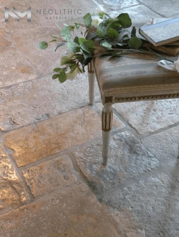 Antique Italian Limestone Flooring (1)