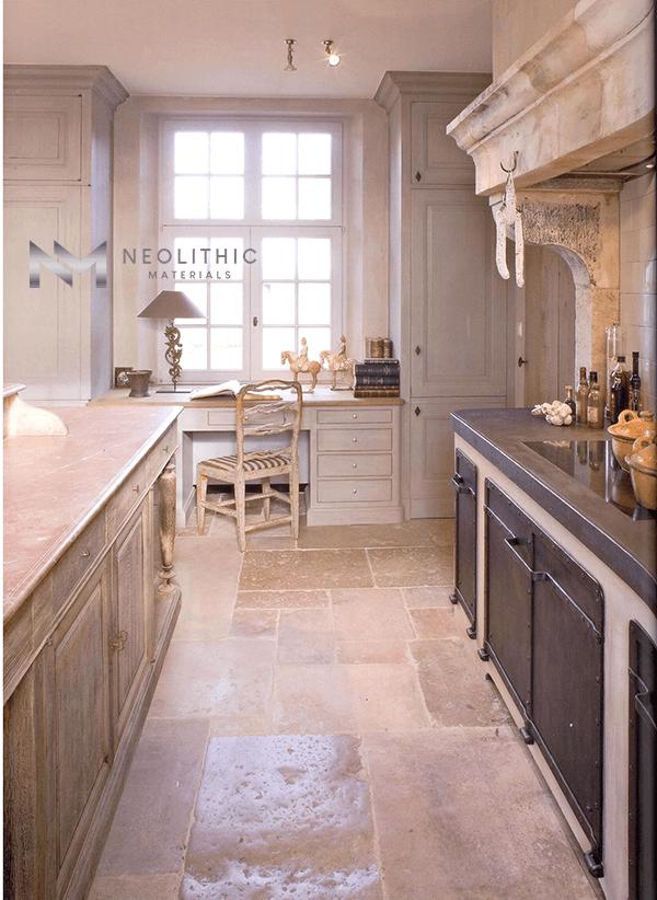 Antique Italian Limestone Flooring (2)