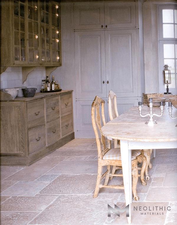 Antique Italian Limestone Flooring (3)