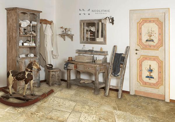 Antique Italian Limestone Flooring (7)