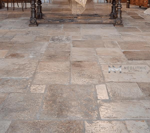Antique Italian Limestone Flooring (8)
