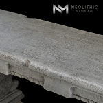 Image of BN-22-d one of the High Quality Reclaimed Stone Bench product of Neolithic Materials