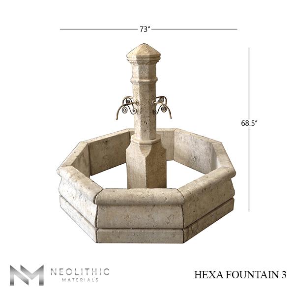 Hexa Fountain 3 1