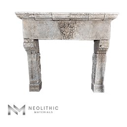 Reclaimed Fireplace Mantel KM 694