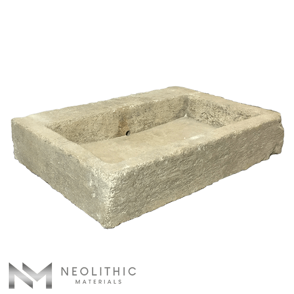 Left side view of RSK 04 - BU 100 one of Stone Sink of Neolithic Materials