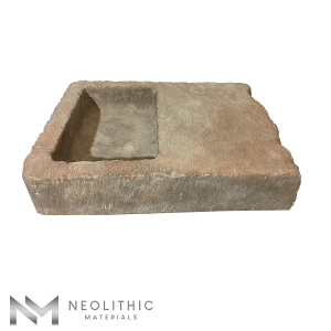 Upper front view of RSK 65 - BU 100 one of High Quality Stone Sinks of Neolithic Materials