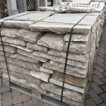 Pile of stock of Reclaimed Italian Flooring used for flooring, walling, and many more