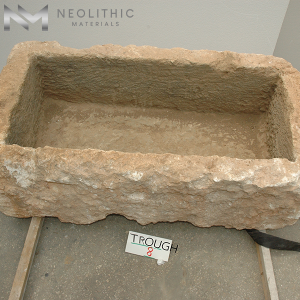 Upper front view of TR 08 one of Rectangular Stone Sinks of Neolithic Materials