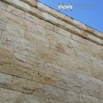 Cladding Coarse Tile installed in outdoor walling